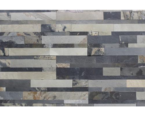 Obkladový kámen ALFIstick Břidlice multi 15x60 cm