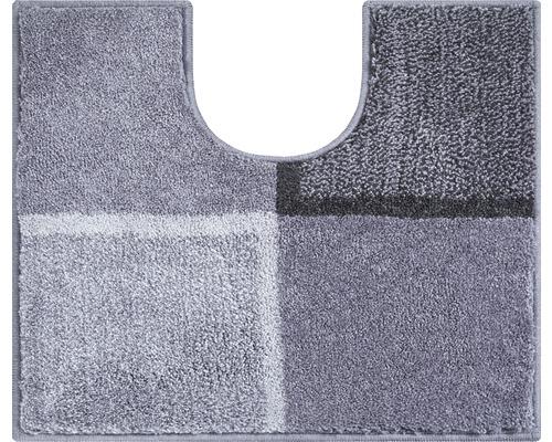 WC Předložka do koupelny Grund Diviso šedá 50x60 cm