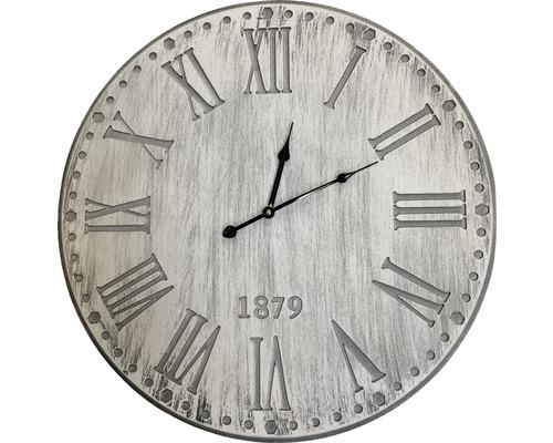 Nástěnné hodiny dřevěné Ø 60cm
