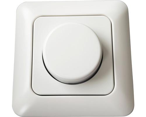 Stmívač BASIC otočný 7 - 110 W / LED 3 - 35 W, bílý