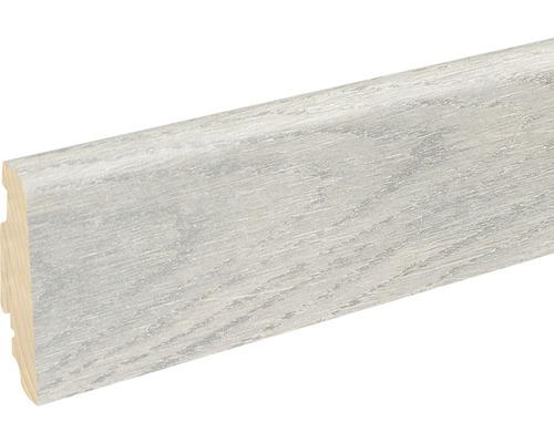 Soklová lišta Skandor White Oak lesklá FU60L19x58x2400 mm