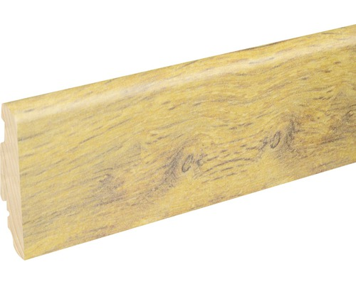Soklová lišta Skandor Old Victoria Oak lesklá FU60L 19x58x2400 mm
