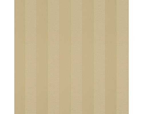 Vliesová tapeta Trianon XII, motiv proužky, zlatá
