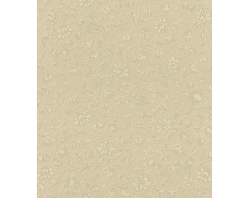 Vliesová tapeta Trianon XII, motiv květiny, zlatá
