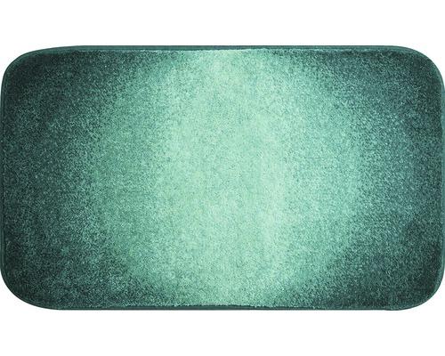 Koupelnová předložka Grund Moon 60x100 cm petrolejová