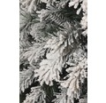 Umělý vánoční stromek zasněžený 215 cm