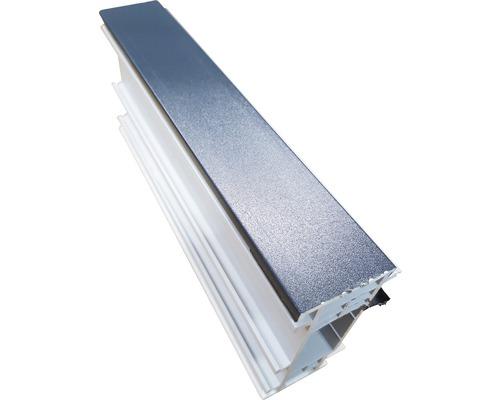 Rozšiřovací profil ARON Comfort 35 mm bílý / titan D: 1400 mm