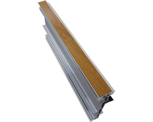 Rozšiřovací profil ARON Comfort 15 mm bílý / golden oak D: 2200 mm