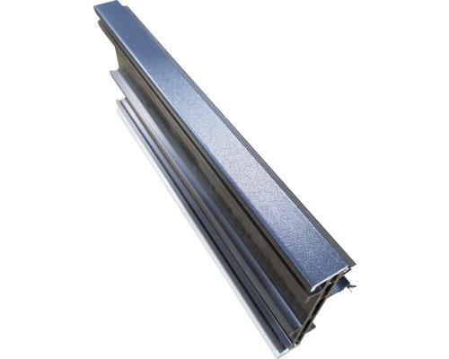 Rozšiřovací profil ARON Comfort 15 mm bílý / titan D: 1400 mm