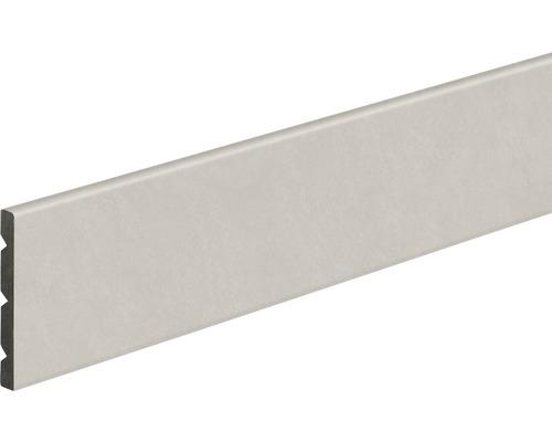 Podlahová lišta KU068 světle šedá