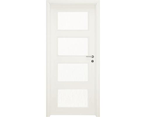 Interiérové dveře Colorado 5 prosklené 60 P bílé (VÝROBA NA OBJEDNÁVKU)
