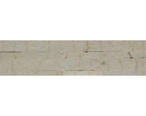 Obkladový kámen Alfistick žlutý mramor 15x60 cm
