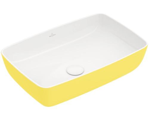 Umyvadlo Villeroy & Boch ARTIS 58x38 cm hranaté Lemon