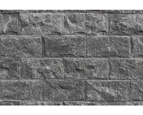 Obkladový kámen černý mramor 10x20 cm