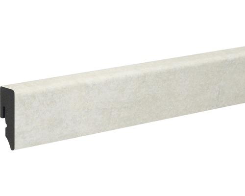 Soklová lišta Skandor PVC KU48L Pore 15x38,5x2400 mm