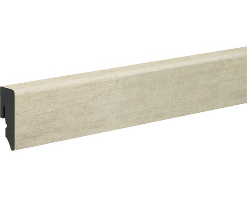 Podlahová lišta Skandor KU048L PVC 15x39x2400 mm