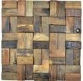 Dřevěná mozaika Bowd 25 parketa Boat 30x30 cm Old Wood FSC