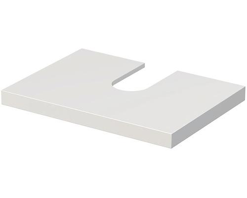 Deska pod umyvadlo Intedoor Landau bílá 70 cm pro umyvadlo Jungborn Slimline Nissa