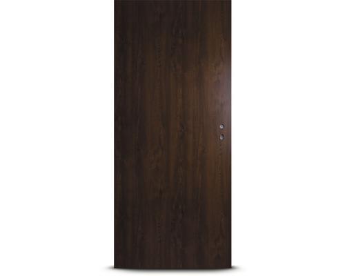 Plechové dveře Hörmann ZK, 90 L, ořech