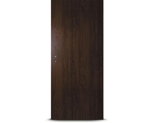 Plechové dveře Hörmann ZK, 100 P, ořech