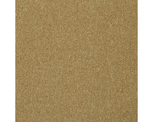 Kobercová dlaždice Diva hnědobéžová 50x50 cm