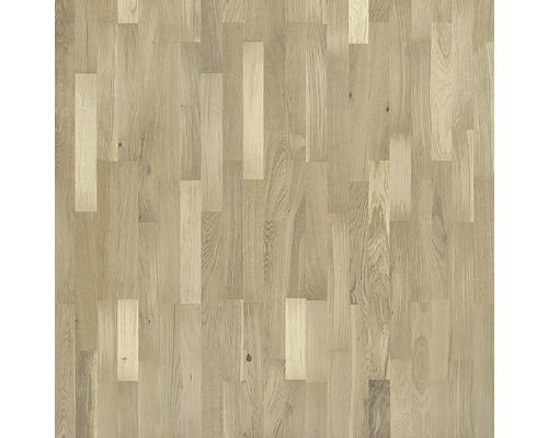 Dřevěná podlaha 10.0 dub bílý matně lakovaný