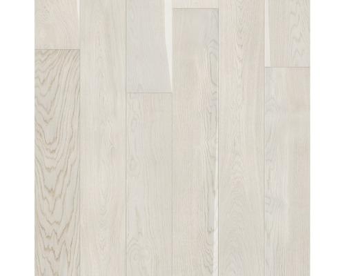 Dřevěná podlaha 14.0 dub krémový Landhaus lamela matný lak kartáčovaná
