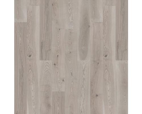 Dřevěná podlaha 14.0 jasan platinum šedý