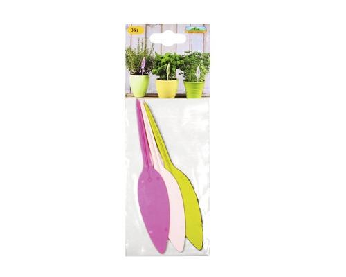 Jmenovky na rostliny plastové 3 ks