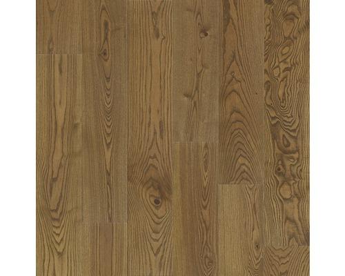 Dřevěná podlaha 14.0 jasan Cognac matně lakovaná