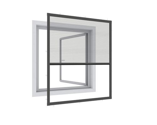 Plisé na okno proti hmyzu Expert 100 x 120 cm antracit