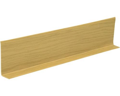 Soklová lišta Světlý dub 5 cm x 15 m