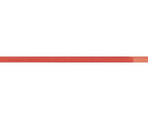 Listela VARNA Rojo sklo 2x50 cm