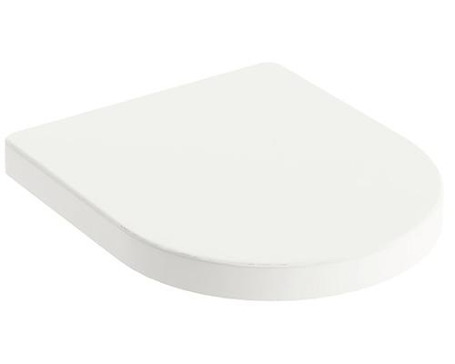Záchodové prkénko RAVAK Chrome white