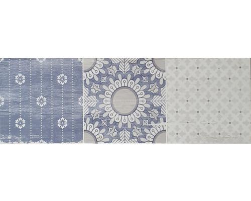 Dekor ORIENTAL elisir blue 20x60