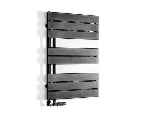 Koupelnový radiátor Luxrad grafit 50x745 cm 375 W H2024