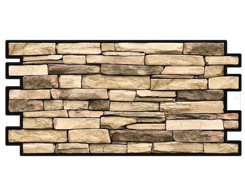 PVC obkladový panel Rock natural 0,35mm