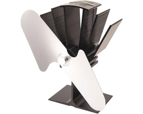 Krbový ventilátor HS Flamingo 2-lopatkový stříbrný