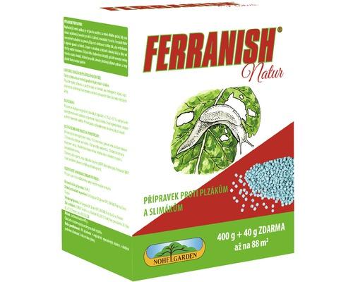 Přípravek proti slimákům a plzákům FERRANISH Natur 400 g + 40 g ZDARMA