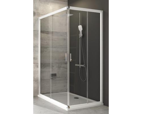 Modulární sprchový kout RAVAK Blix BLRV2K-120 white+transparent jedna strana 1XVG0100Z1