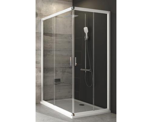Modulární sprchový kout RAVAK Blix BLRV2K-110 white+transparent jedna strana 1XVD0100Z1