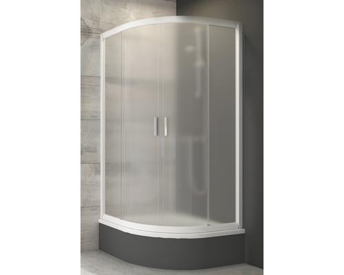 Sprchový kout čtvrtkruhový RAVAK Blix BLCP4-80 SABINA white 175 cm 3B240140ZG