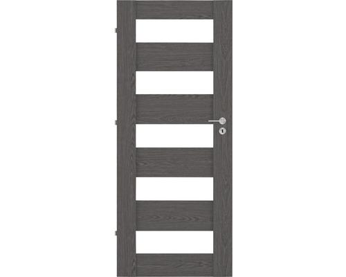 Interiérové dveře PRESTON 2 90 levé antracit