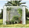 Fóliovník na rajčata 200 x 80 x 169/150 cm
