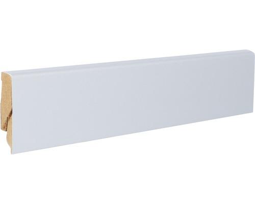 Podlahová lišta MDF 22 x 60 x 2600 mm hliník