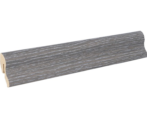 Podlahová lišta MDF 22 x 40 x 2600 mm B501 dub černý