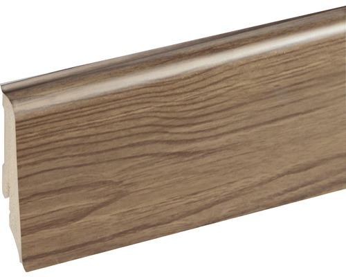 Podlahová lišta Neuhofer K0210L plastová 2400 x 59 x 17 mm EXEI100 dub engelberg