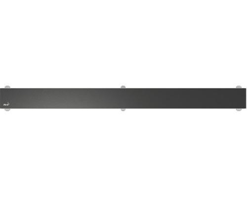 Rošt pro liniový podlahový žlab Alcaplast 30 cm černé sklo GL1204-300