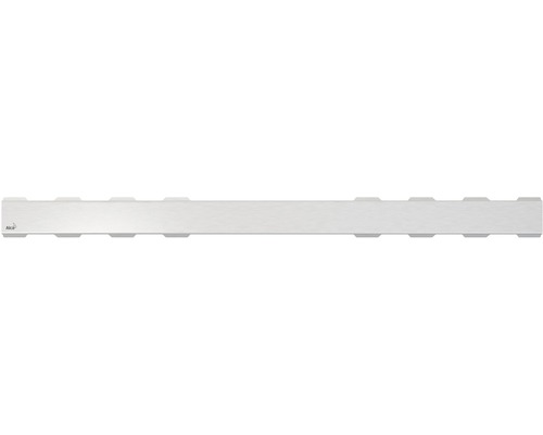 Rošt pro liniový podlahový žlab Alcaplast 75 cm nerez matný plný SOLID-750M