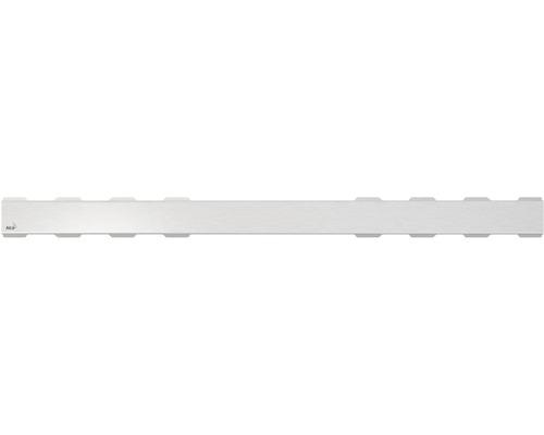 Rošt pro liniový podlahový žlab Alcaplast 85 cm nerez matný plný SOLID-850M